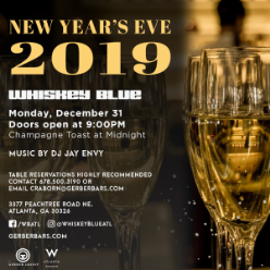 New Year S Eve At Whiskey Blue Event In Atlanta Ga