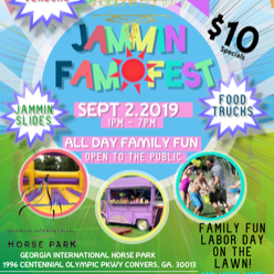 Jammin Fam Fest Event In Atlanta Ga