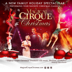 Cirque Christmas.A Magical Cirque Christmas Event In Atlanta Ga