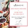 Brunch Board + Gin Fizz Mixology at etuHOME