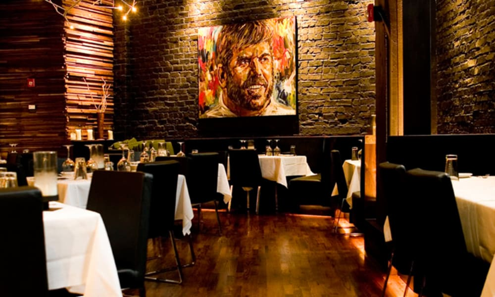 Kevin Rathbun's Steakhouse is sure to set the mood.