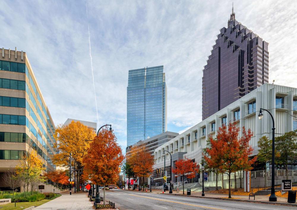 Atlanta Midtown in the Fall