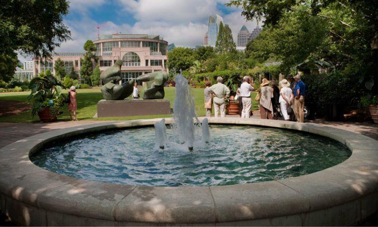 Atlanta Botanical Garden   Fountain