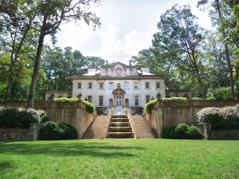 Atlanta History Center Swan House Exterior