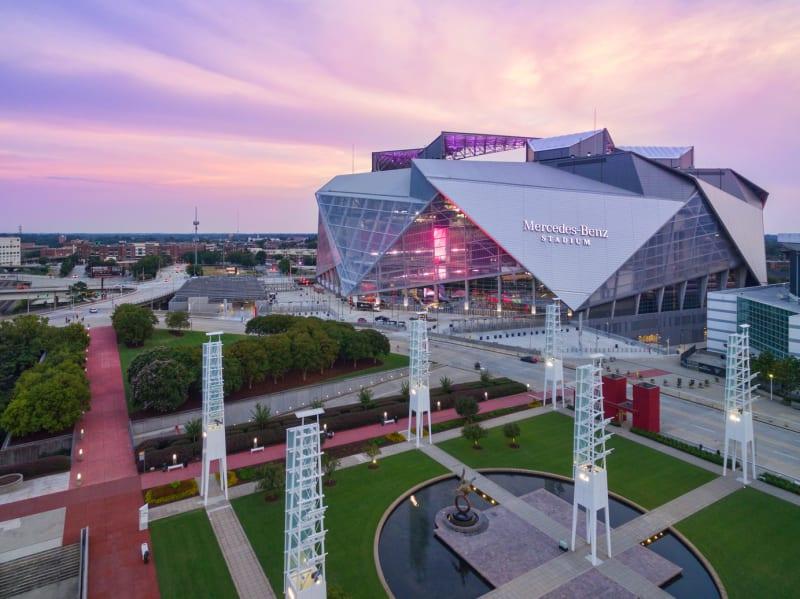 Atlanta-Mercedes-Benz-Stadium-Sunset-Exterior-International-Plaza-View.jpg