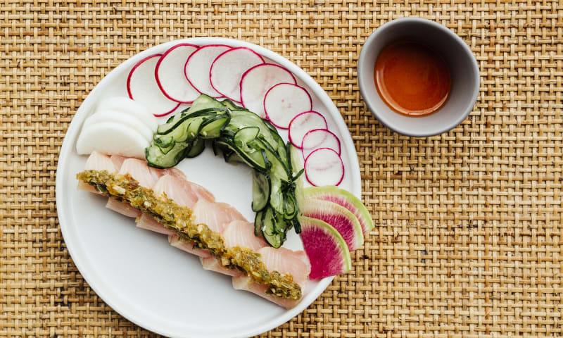 Yellowtail Sashimi - Jason Liang