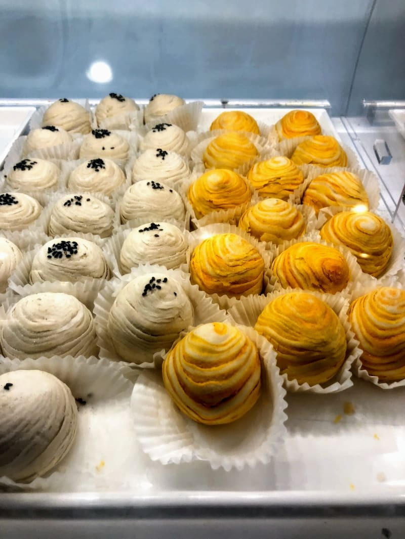 Pastries at Sweet Hut Bakery