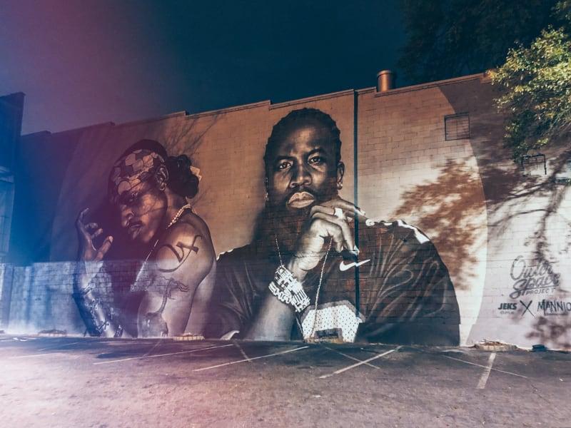 Atlanta Little 5 Points Outkast Mural