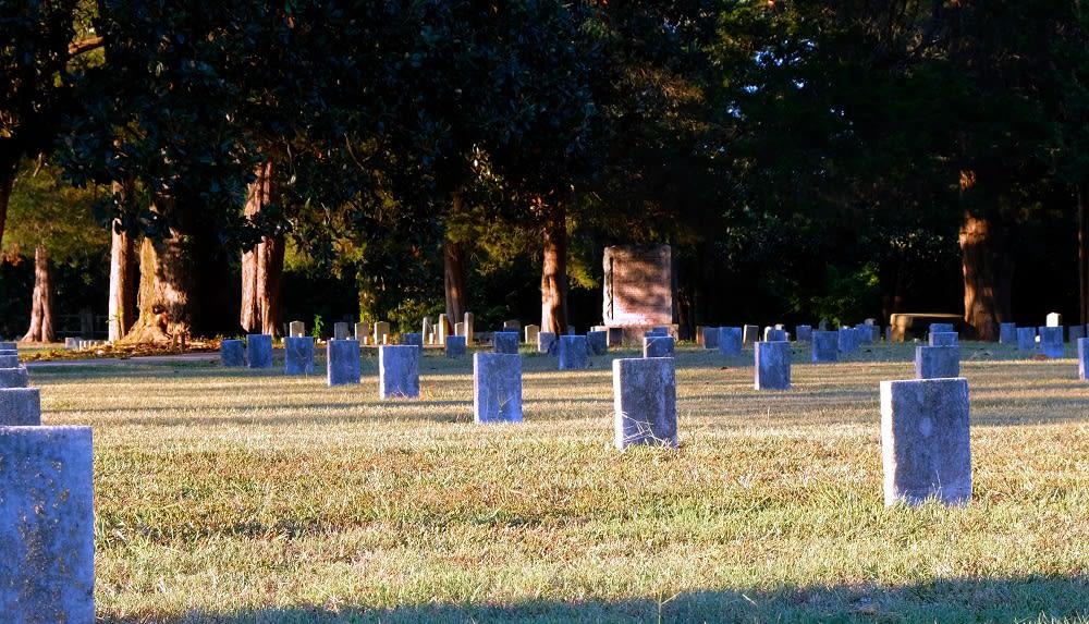 Confederate cemetery in Jonesboro, Georgia