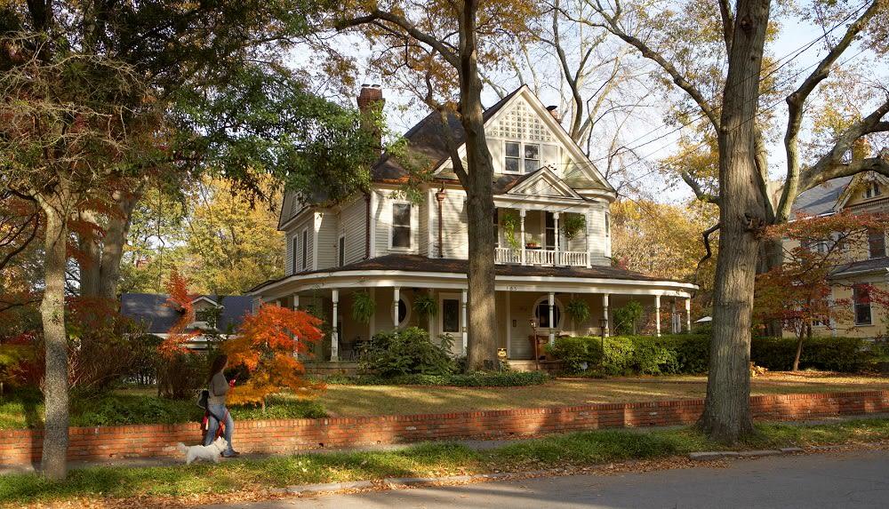 Typical Victorian home in Inman Park neighborhood of Atlanta