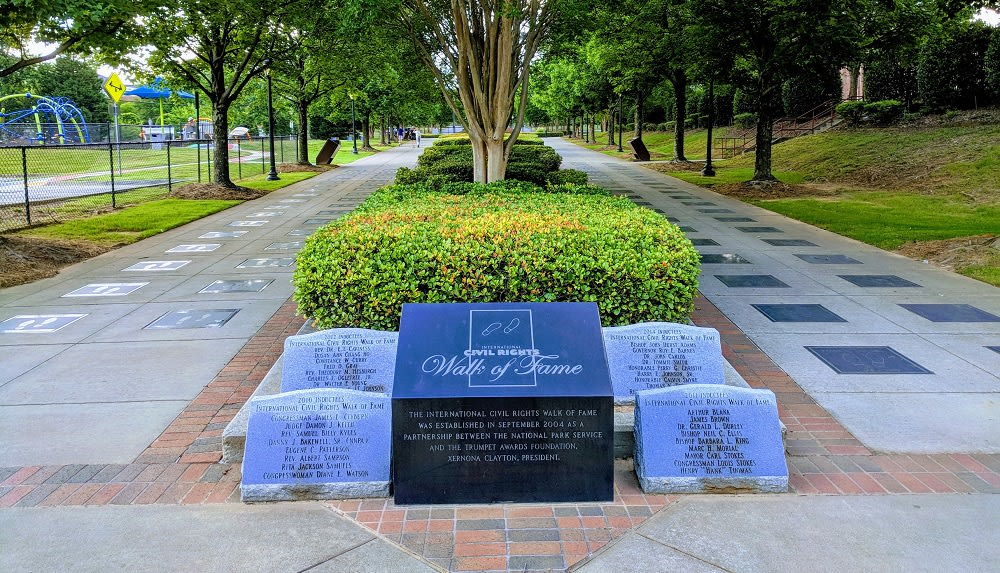 International Civil Rights Walk of Fame at Martin Luther King, Jr. National Historic Park