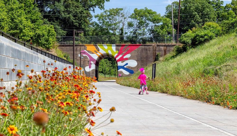Atlanta Westside BeltLine Tunnel Mural