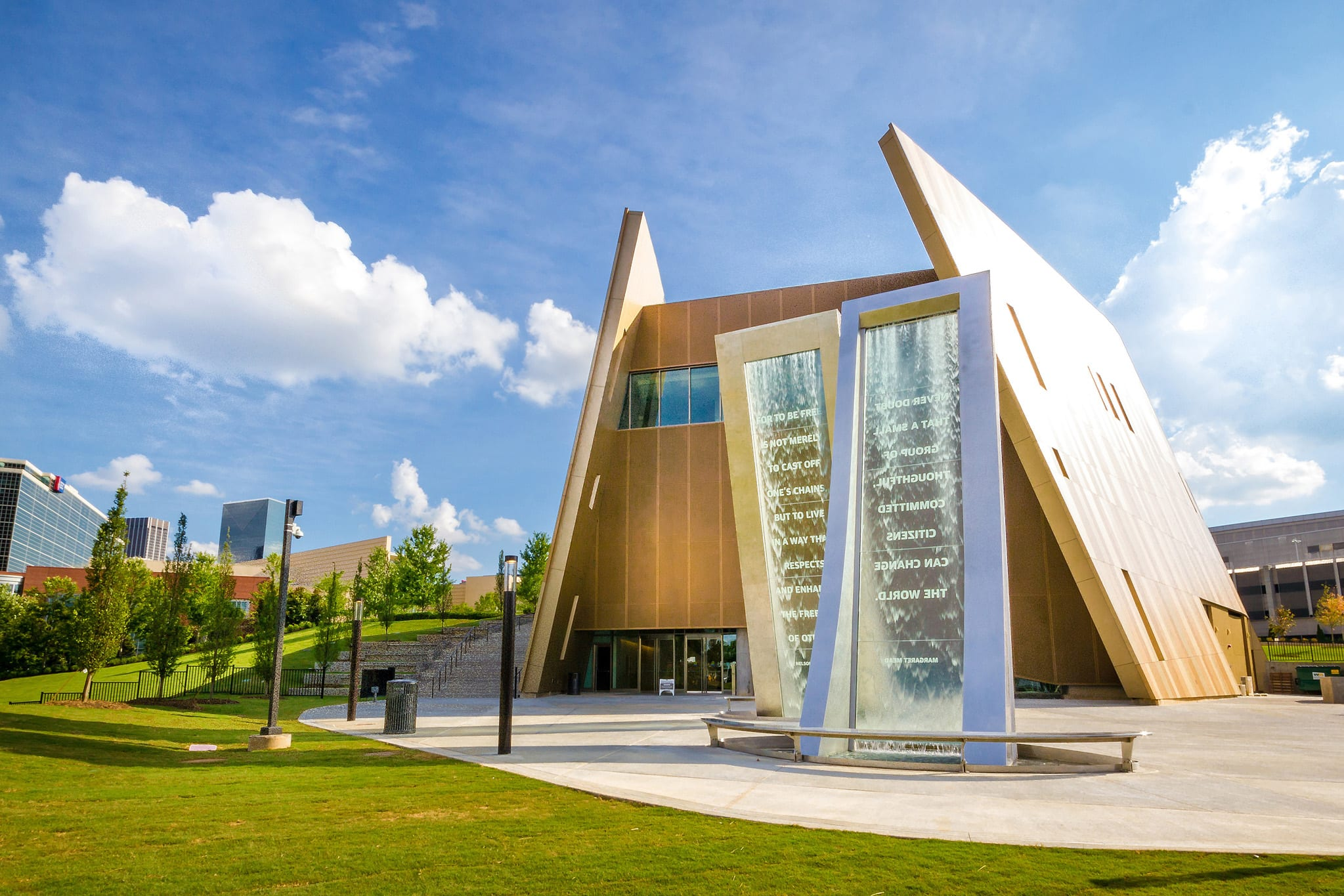 The National Center for Civil and Human Rights is one of Atlanta's top tourist attractions