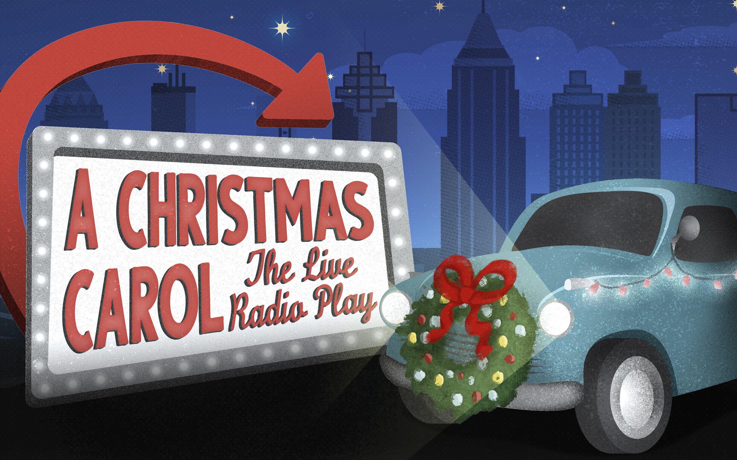 A Christmas Carol Live Radio by Alliance Theatre
