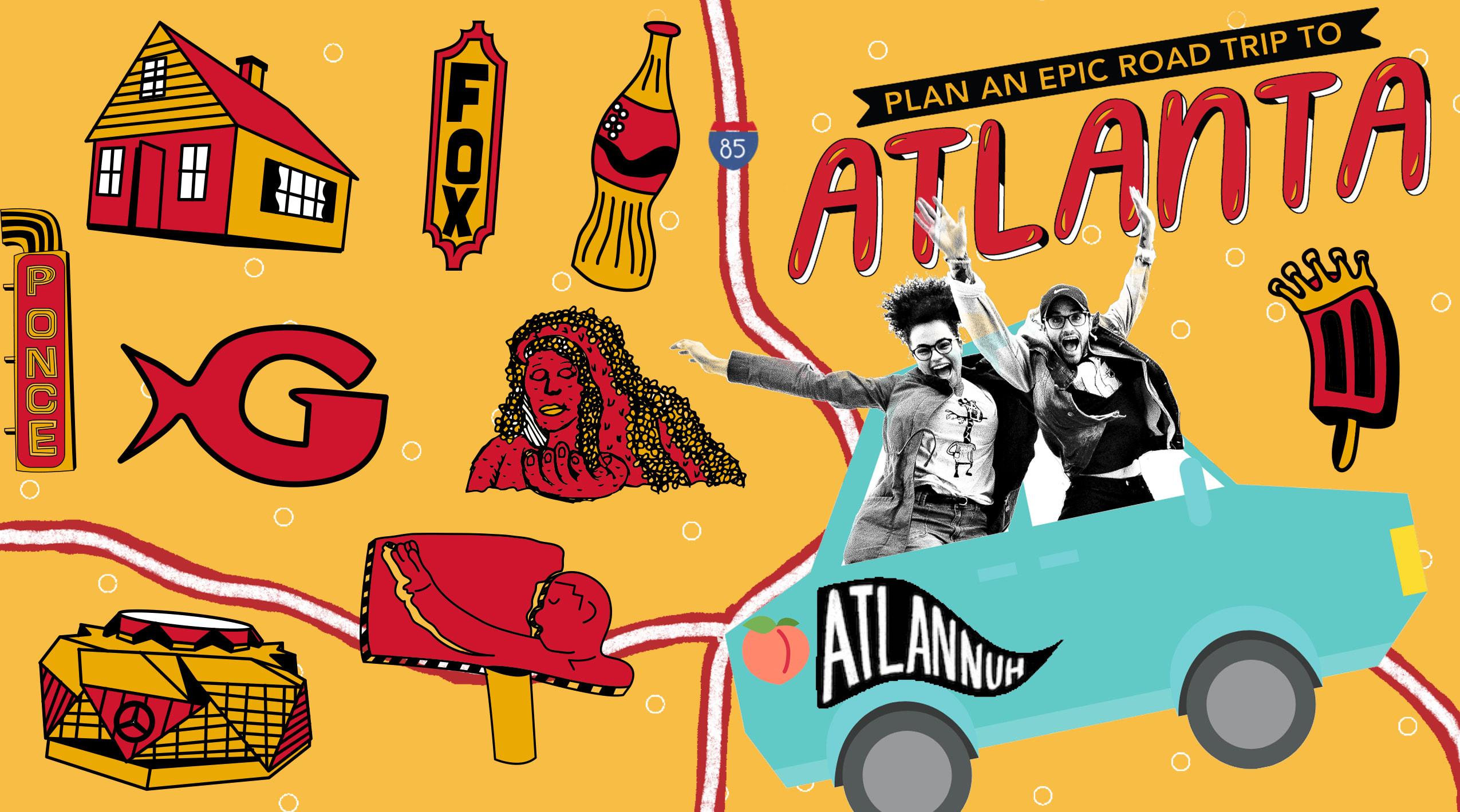 Roadtrip to Atlanta Graphic