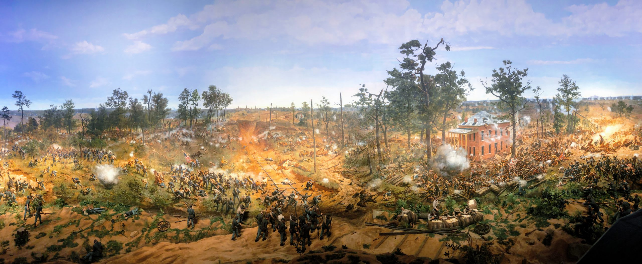 Cyclorama Battle of Atlanta Painting at Atlanta History Center