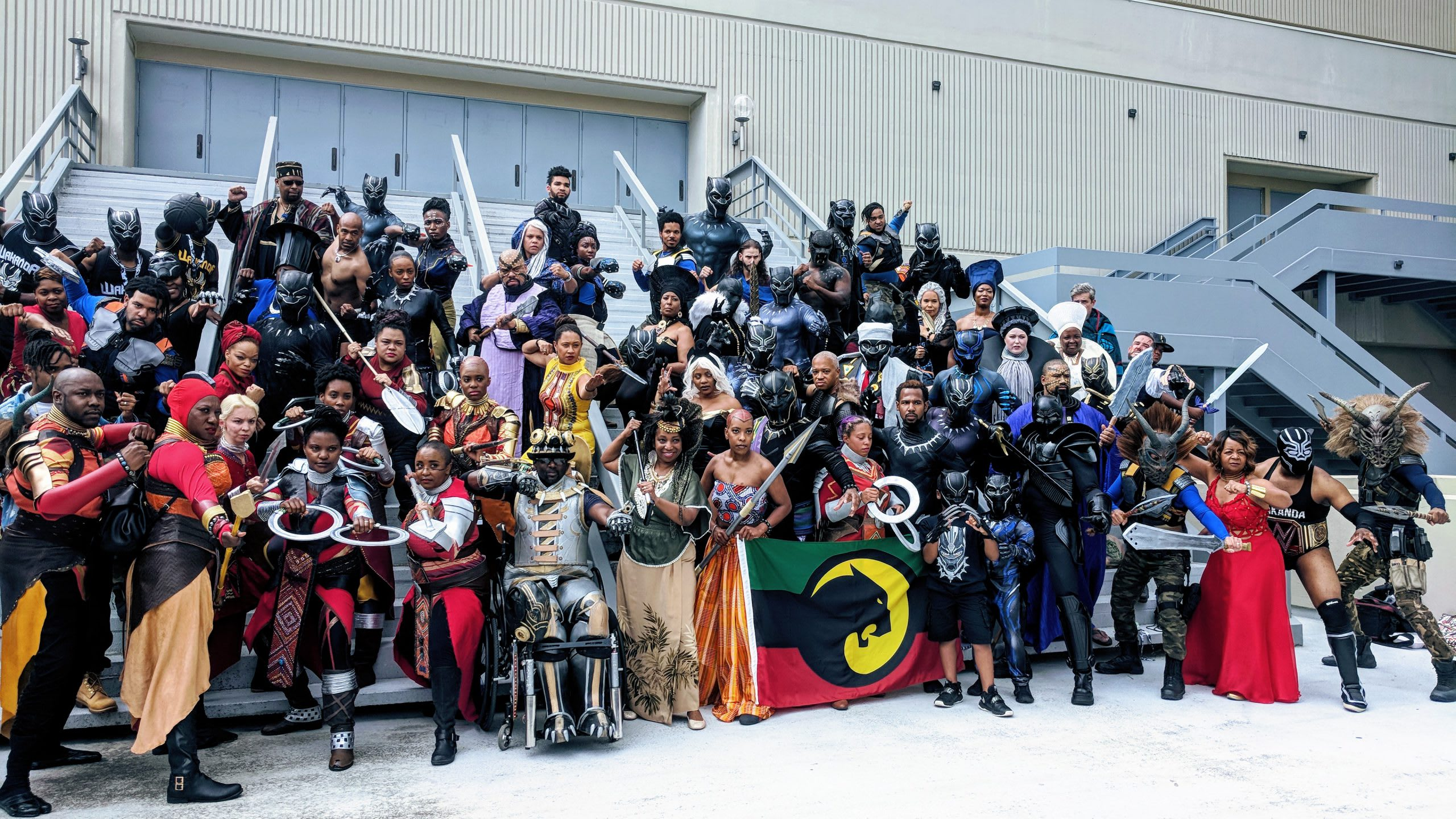 Atlanta Dragon Con Black Panther
