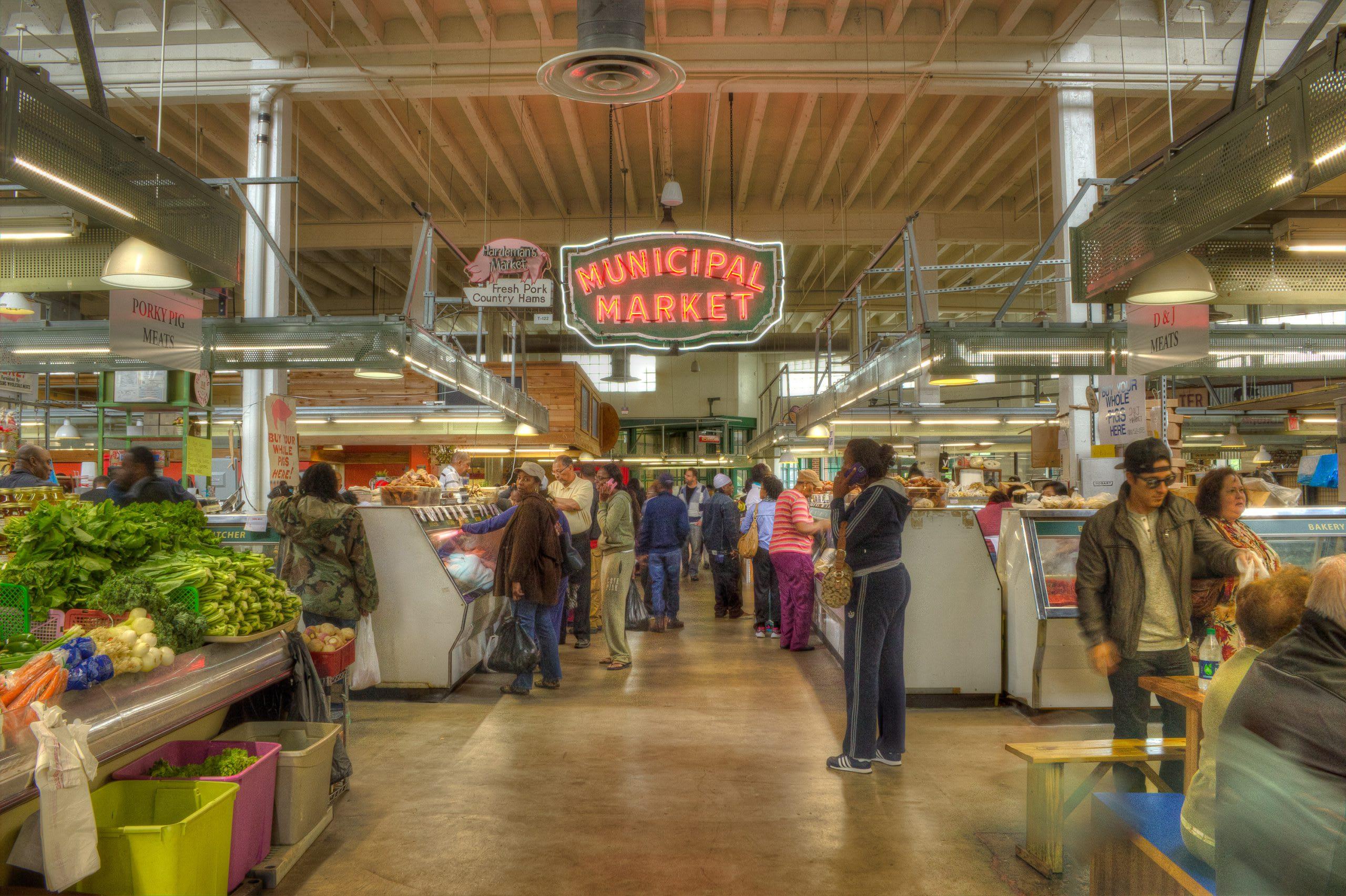 Municipal Market in Sweet Auburn Curb Market