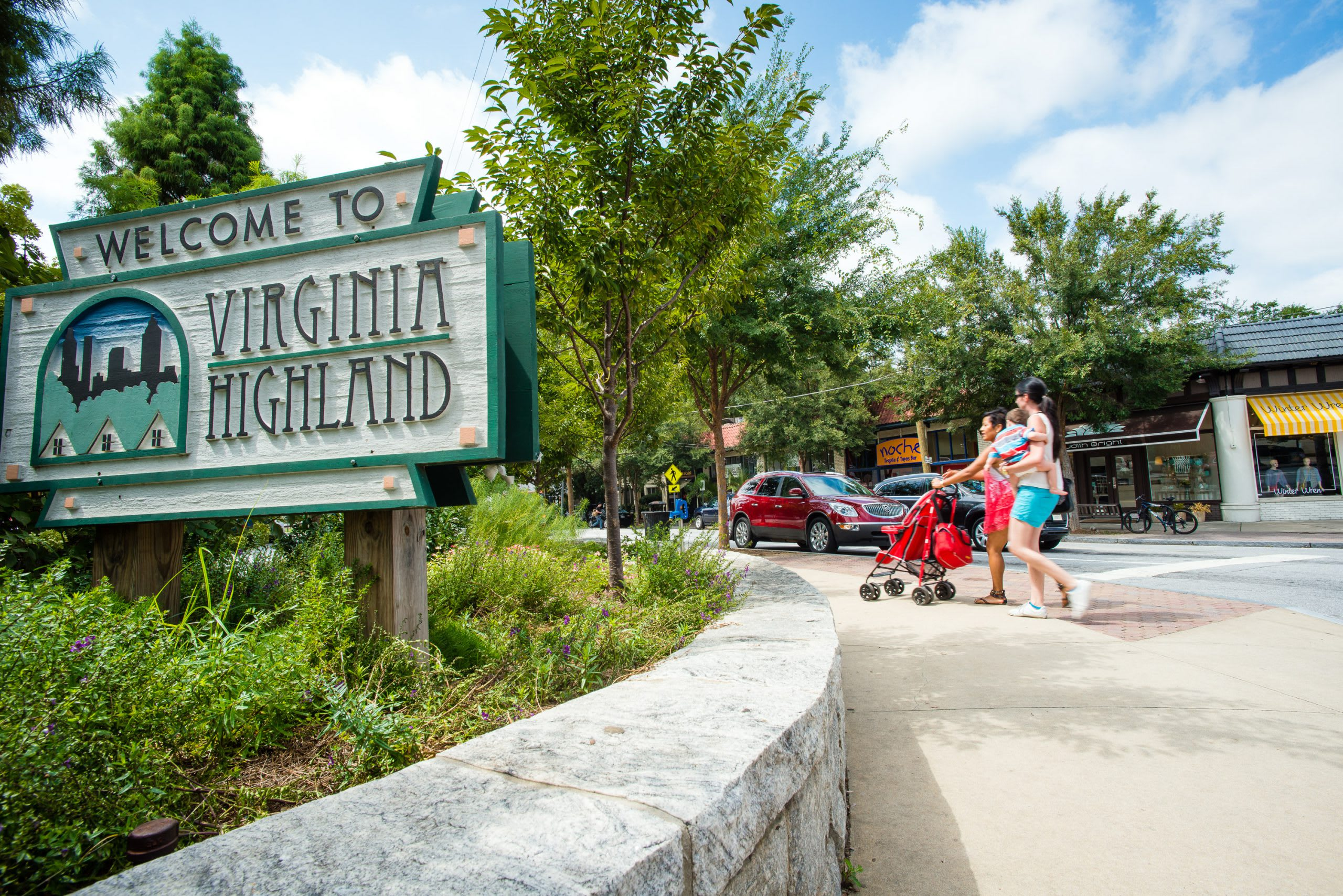 Virginia-Highland neighborhood