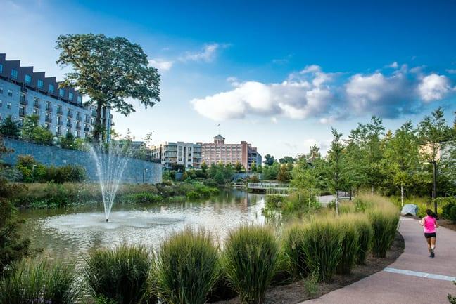 Explore Historic Fourth Ward Park