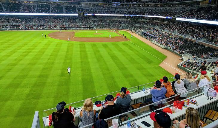 Watch the Braves at Suntrust Park Field in Atlanta GA