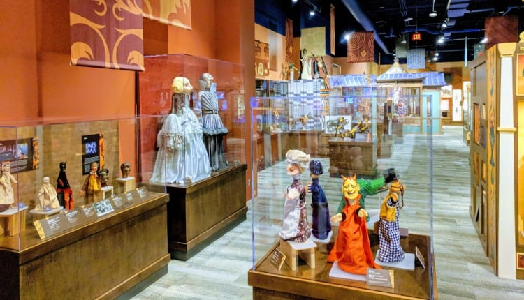 Midtown's Center for Puppetry Arts features puppet making, tours and shows