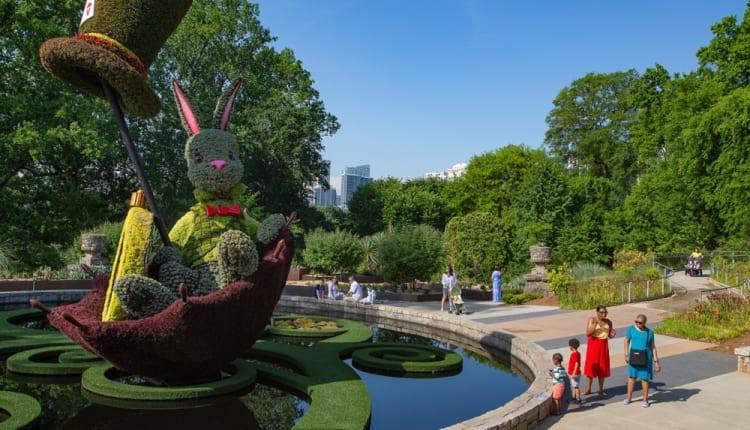 Atlanta Botanical Garden is an urban oasis of more than 30 acres