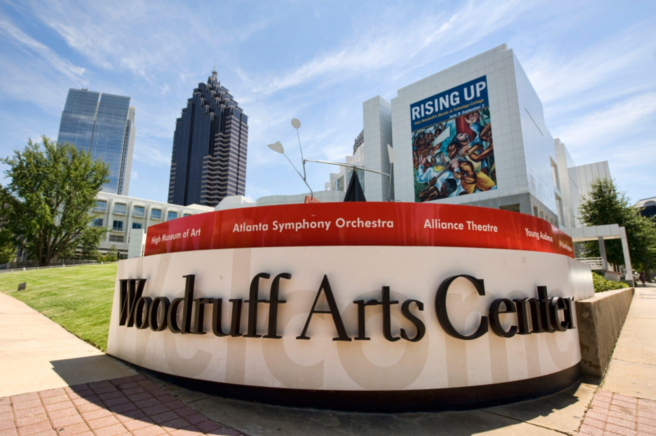 Woodruff Arts Center Exterior