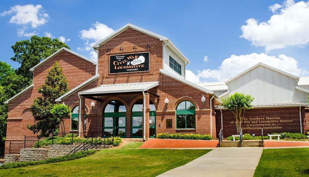 The Southern Museum of Civil War and Locomotive History in Kennesaw, Georgia