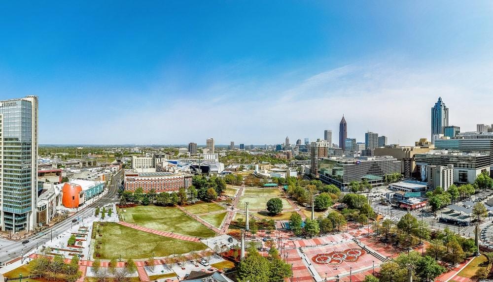 Atlanta Downtown Centennial Olympic Park