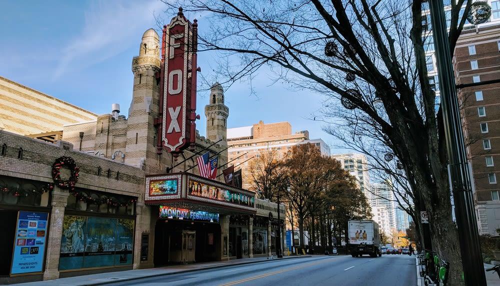 Atlanta Fox Theatre Exterior