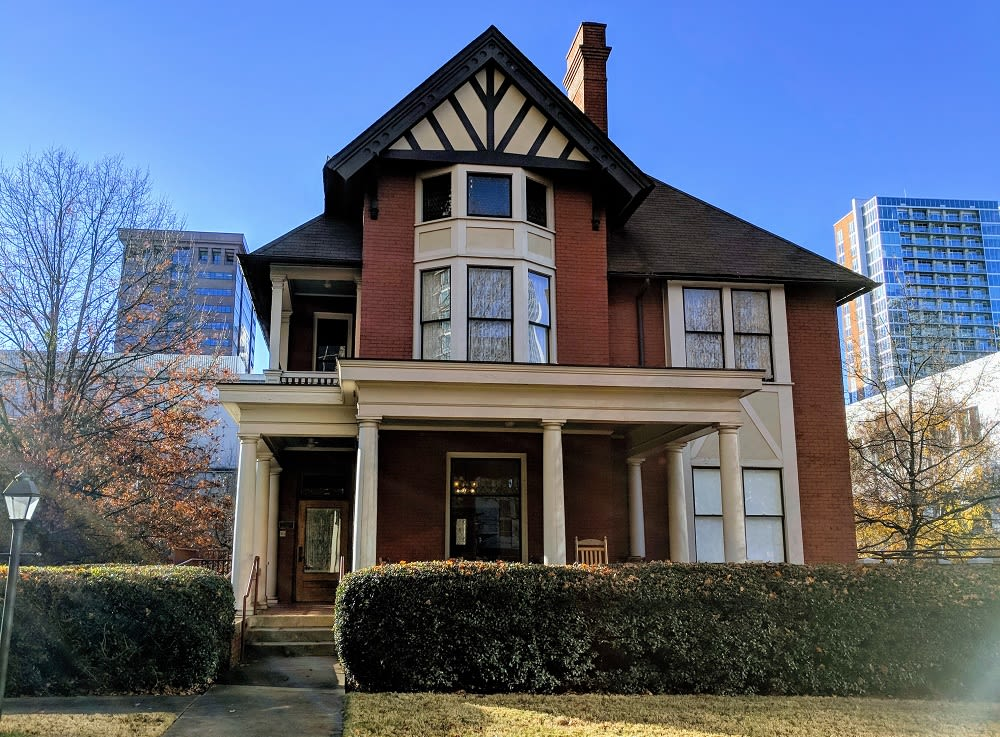 """Margaret Mitchell's midtown apartment, """"The Dump,"""" where most of """"Gone with the Wind"""" was penned"""