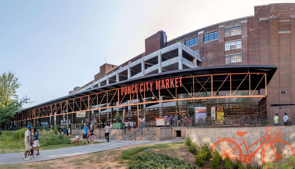 Ponce City Market Atlanta BeltLine entrance
