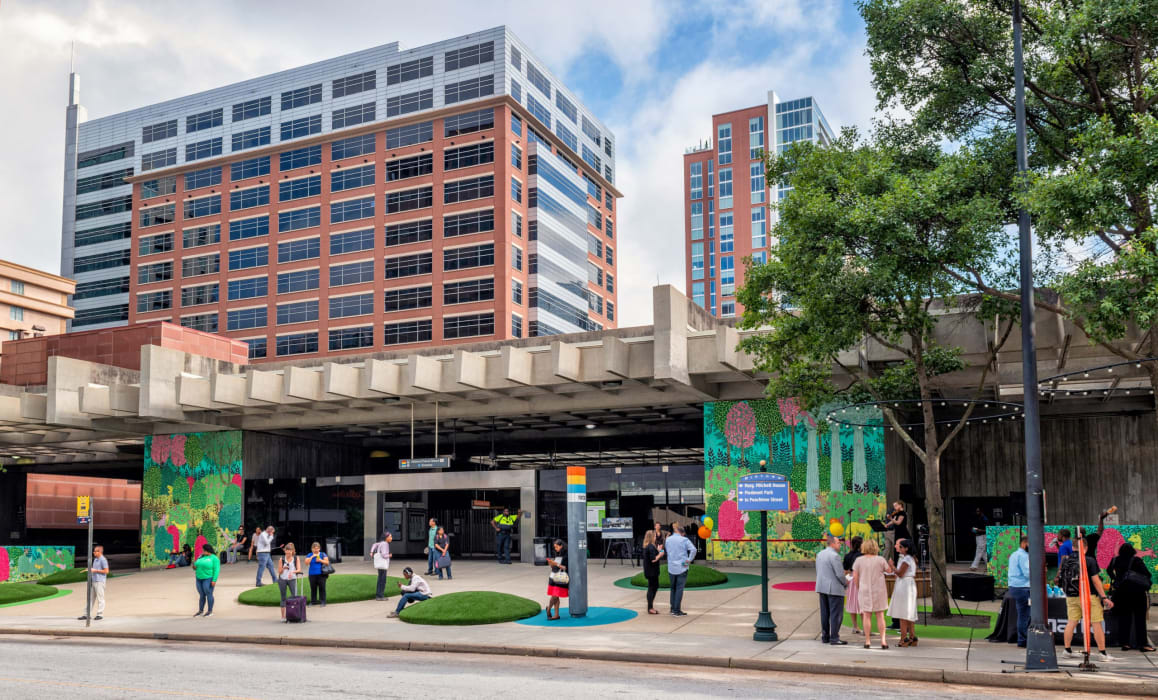 MARTA Midtown Station