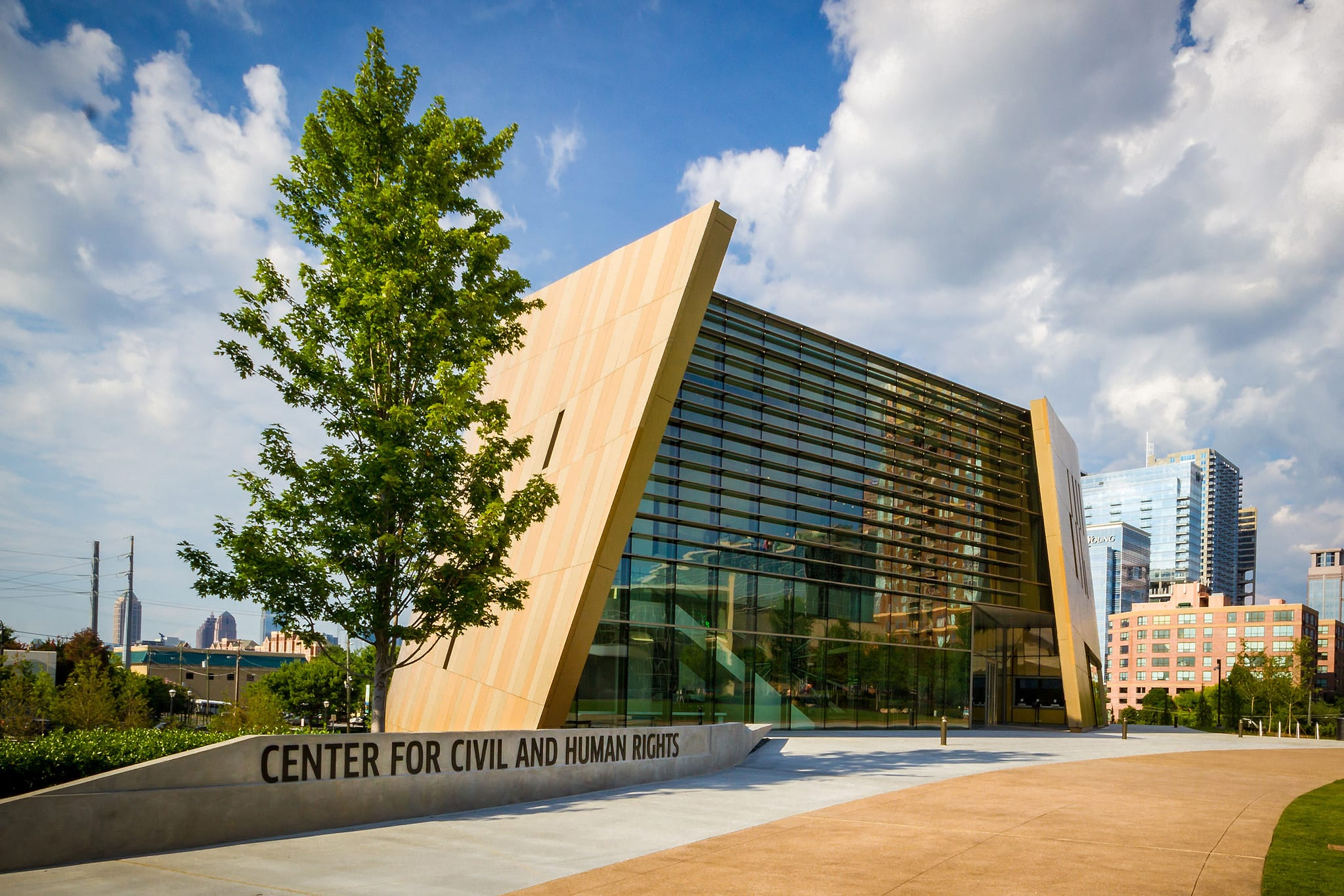 The National Center for Civil and Human Rights is one of the top places to visit in Atlanta
