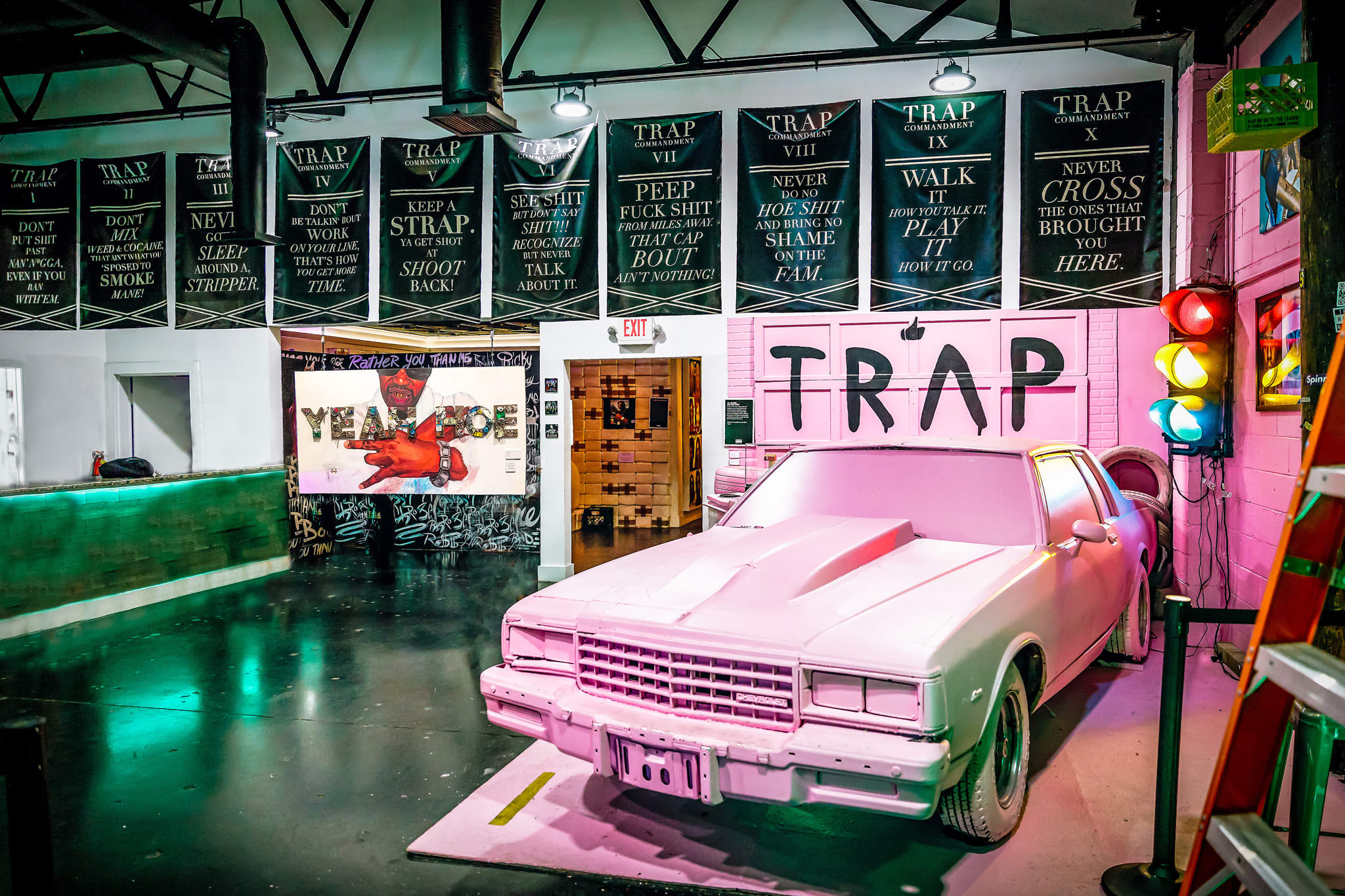 The Trap Music Museum has quickly become on the top places to visit in Atlanta