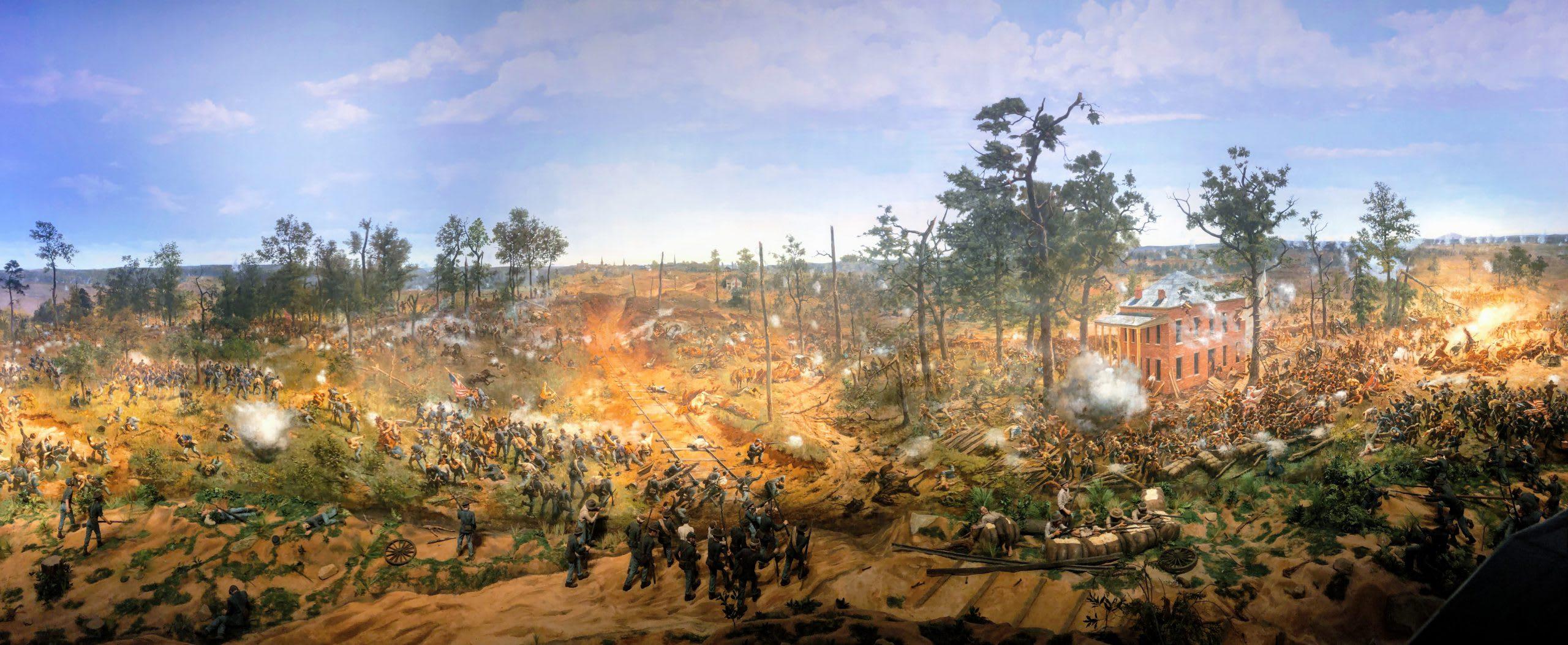Cyclorama Battle of Atlanta Painting at Atlanta History Center