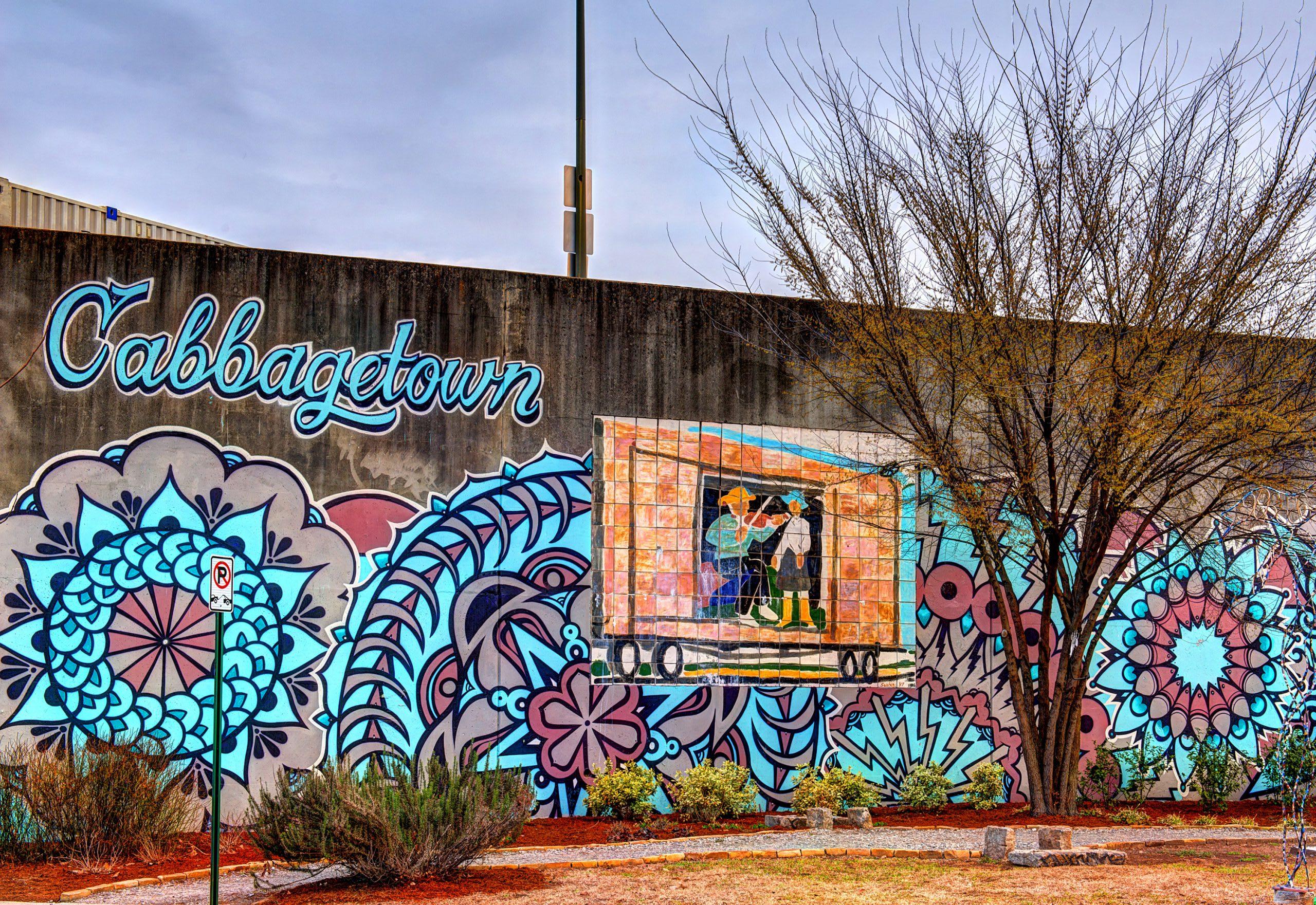 Cabbagetown mural