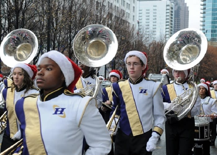 Children's Christmas Parade in Atlanta - Marching Bands