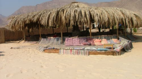 Beach and Beduin culture on the Sinai Peninsula