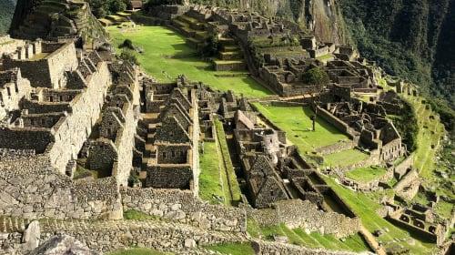 Machu Picchu, is that you?