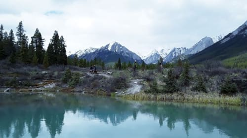 Backpacking trip in Canada