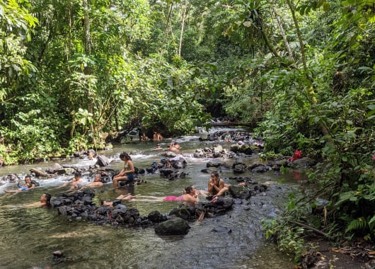 hot springs from Tabacon