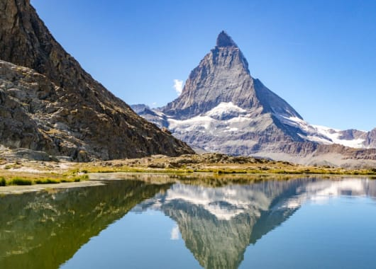 Matterhorn view from Riffelsee