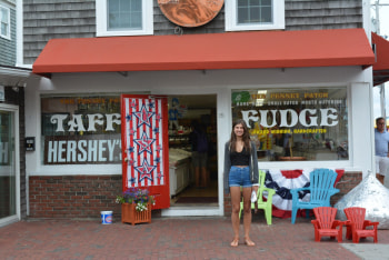 Penny Candy has the best salt water taffy and fudge!