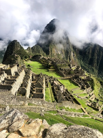 Machu Picchu, is that you?