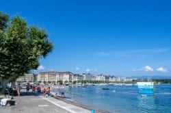 Swim in Lake Geneva