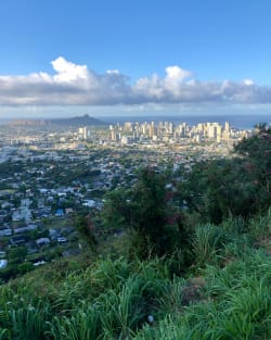 View from Tantalus Lookout