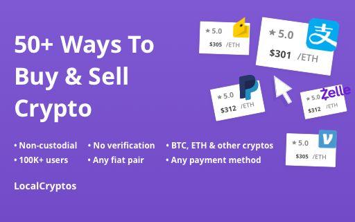 LocalCryptos p2p trading btc eth