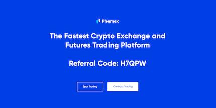 Phemex Referral Code H7QPW (Bonus) in trading-platforms